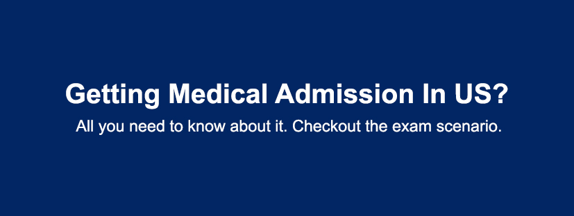 Medical Admission In USA