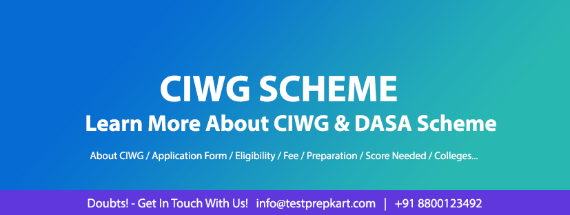 Updates about DASA / CIWG scheme