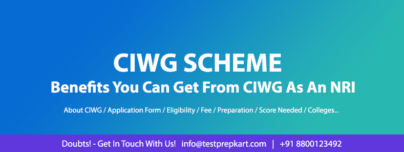 CIWG Scheme Benefits & Advantages