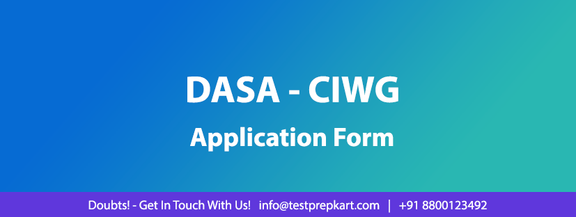 DASA/CIWG 2019-20: Application Form Filling & Submission