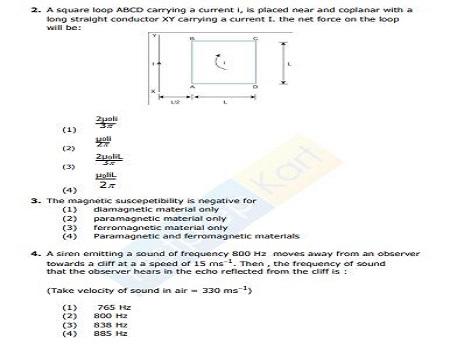 NEET Physics sample paper Download
