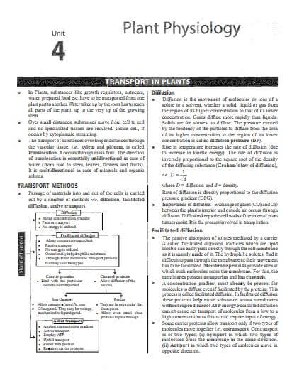 NEET chapter wise Biology class 11th study material