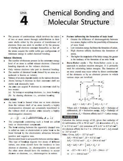 NEET chapter wise Chemistry class 11th study material