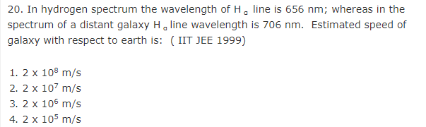 JEE Physics Modern Physics Question