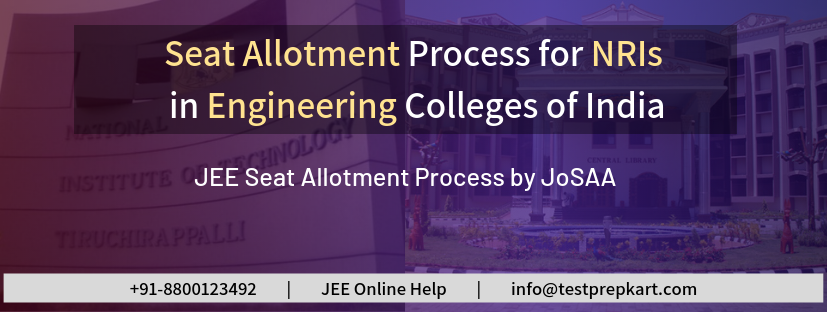 Seat Allotment for NRI Students in Engineering Colleges of India
