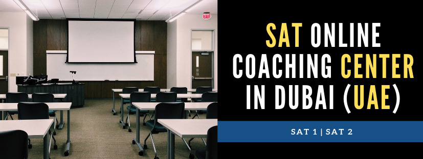 TOP 5 SAT coaching centers in Dubai (UAE)