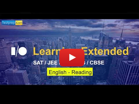 SAT English Preparation Course
