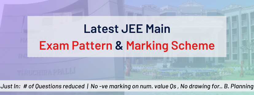 JEE Mains Marking Scheme for Paper 1 & 2