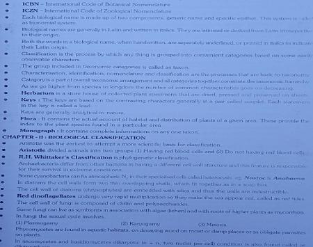 NEET Biology Formula Download