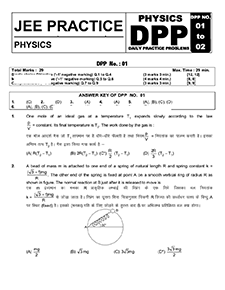 Download JEE Physics DPP (Daily Practice Papers)