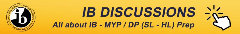 IB Discussion Forum