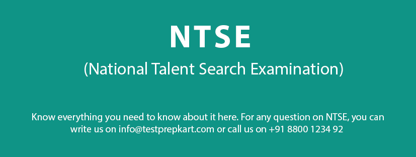 NTSE Information and Details